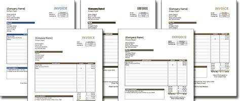 fancy invoice template theme enabled excel templates