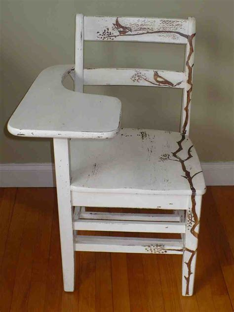 Old School Desk Chair Home Furniture Design Painted Desk