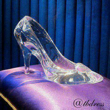 glass slipper from cinderella cinderella cinderella shoes and at midnight on