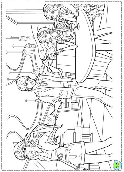 barbie fashion coloring pages kootation