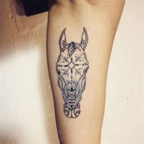 19 enchanting beautiful horse tattoos and their spiritual
