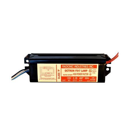 under lighting ballast replacement radionic hi tech octron 17 t8 high power factor