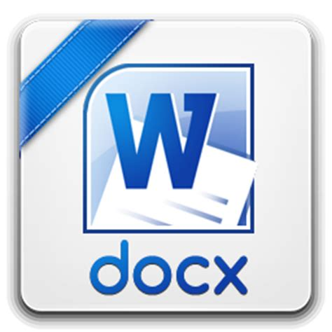 docx icon basic filetypes  iconset trayse