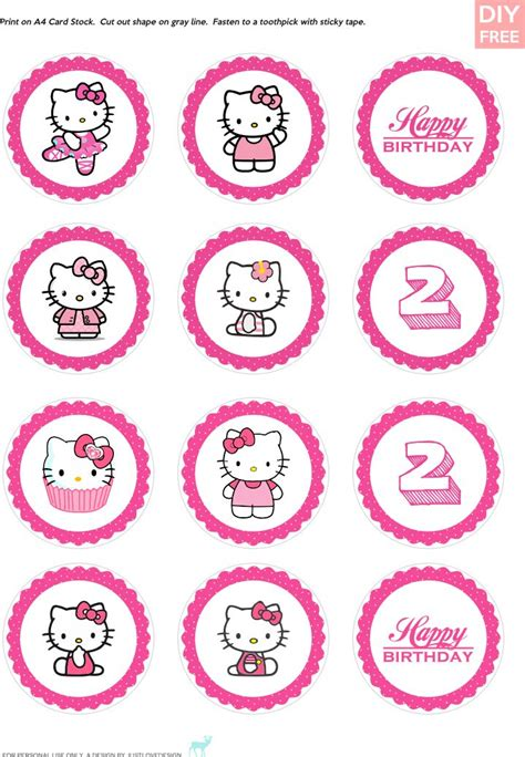 hello cupcake topper template 113 best images about diy hello on