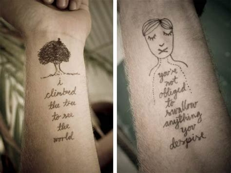 doodle tattoos temporary doodles doodlers anonymous