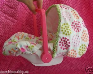 reborn car seats on ebay car seat carrier w new cover for mini reborn ooak