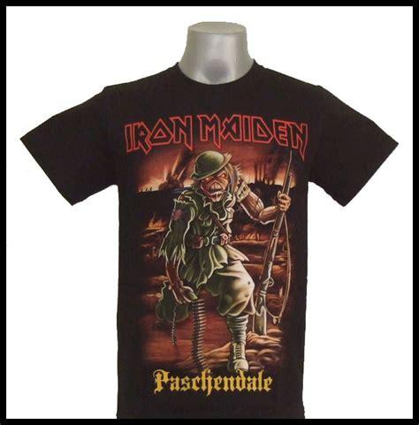 Iron Maiden Vyr Size M L Xl T Shirt Kaos Band Import Official Ori iron maiden paschendale metal t shirt size s m l xl