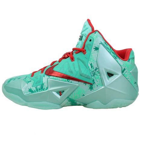 king basketball shoes nike lebron xi 11 pack king green