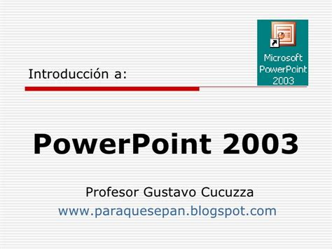 tutorial powerpoint 2003 para niños powerpoint 2003 b 225 sico