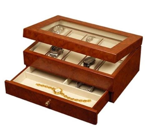 watch armoire watch jewelry case multiple watches