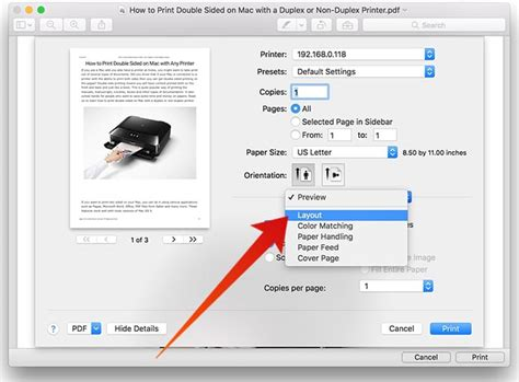 print layout word mac how to print double sided on mac with a duplex or non