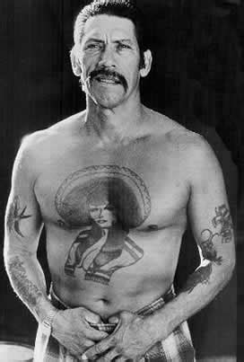 danny trejo tattoo pics photos pictures of his tattoos