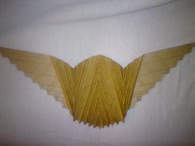 Flat Origami Butterfly - flat origami