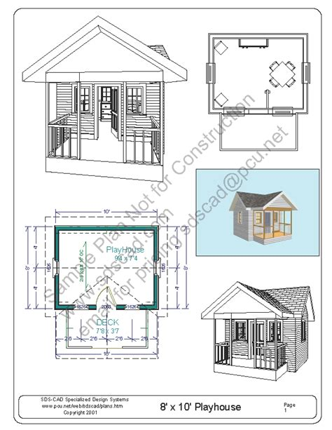 home design free ebook free playhouse plans blueprints construction drawings pdf