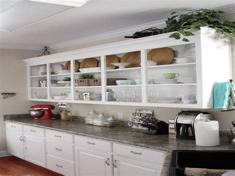 open kitchen cabinets ideas bloombety inspiring open shelving in kitchen open