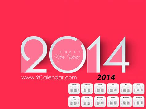 new year 2014 calendar wallpaper happy new year 2014 calendar wallpapers and images