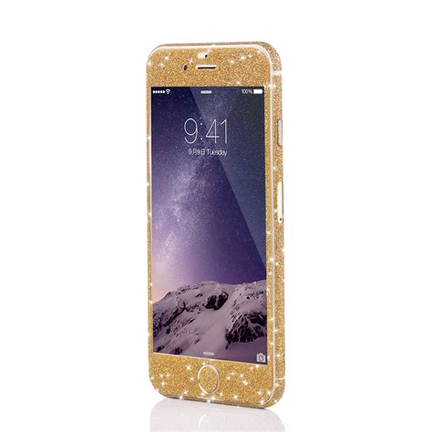 Glitzerfolie Gold by Apple Iphone Magic Gold Glitzerfolie F 252 R Apple Iphone 5 6 7