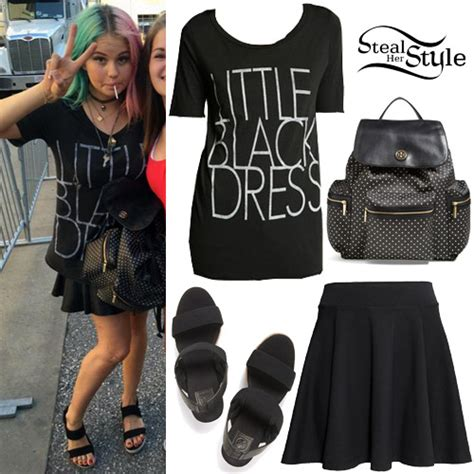 halsey hot mess t shirt debby ryan clothes outfits steal her style