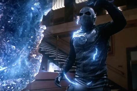 Flash Icy Black Original the flash season 3 zoom actor confirms he s now black flash and teases return player one