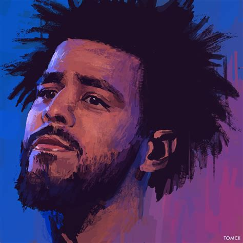 Drawing J Cole by J Cole Artist Painting Drawing Illustration
