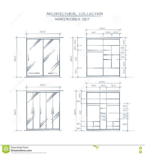 plan garde robe plan de garde robe maison image id 233 e