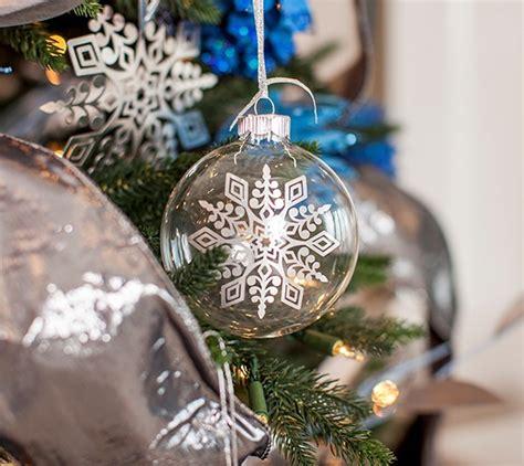 cricut christmas ornaments with balsam hill cricut