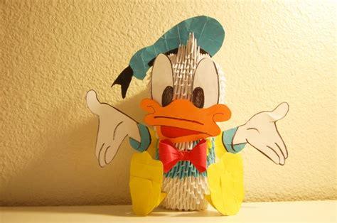 3d Origami Doraemon - donald duck album ibeautylovely 3d origami