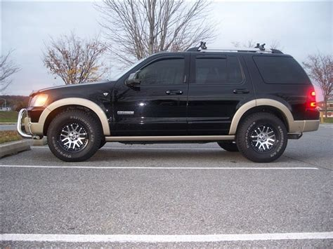 larger tire size for stock 17 inch rims ford