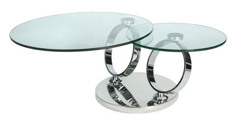 twist rotating extending glass coffee table santaconapp