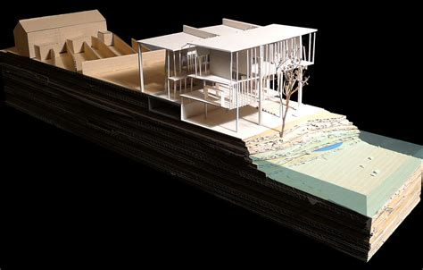 sectional model changing the current a school on the riverbank honors