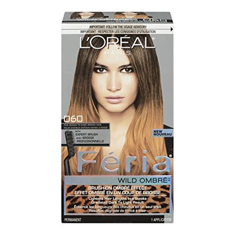 hair color side effects loreal feria brush on ombre effect hair color o60 wild ombre for
