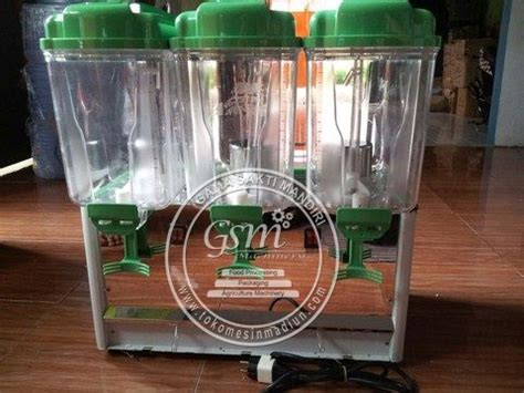 Dispenser Jus Kaca mesin juice dispenser 3 tabung toko alat mesin usaha