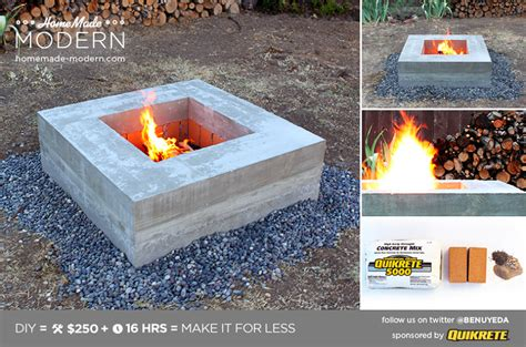 modern pits how to build a modern firepit diy icreatived