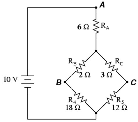 resistor circuit combination δ y and y δ conversions dc network analysis electronics textbook