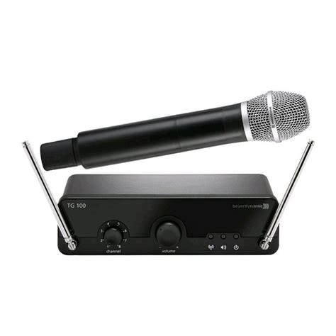 Beyerdynamic Tg 100 Handheld Set Wireless Microphone Set میکروفن بیسیم بیرداینامیک beyerdynamic tg 100 handheld set