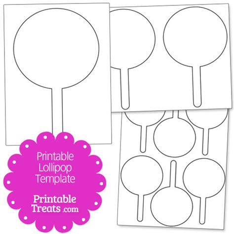printable lollipop images printable lollipop template printable treats com