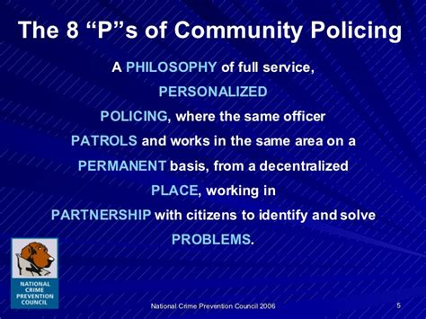 community policing partnerships for problem solving improving community relations