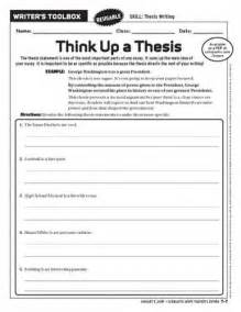 Writing A Thesis Statement For A Narrative Essay by Thesis Statement Worksheet Free Printable Worksheets