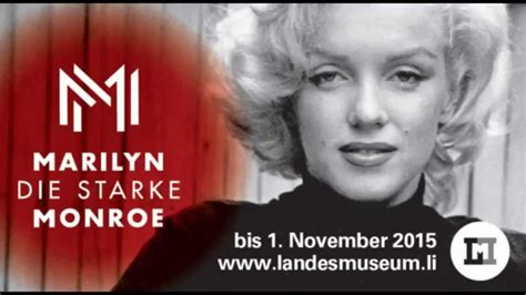 how did marylin die ted stfer radio zur ausstellung marilyn die starke liechtenstein