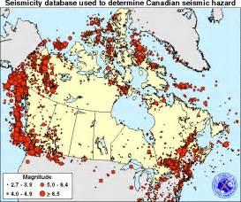 unit1 earthquakes the seismicity of canada