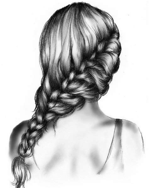 Drawing Hair by Amazing Pencil Drawings Of Hair
