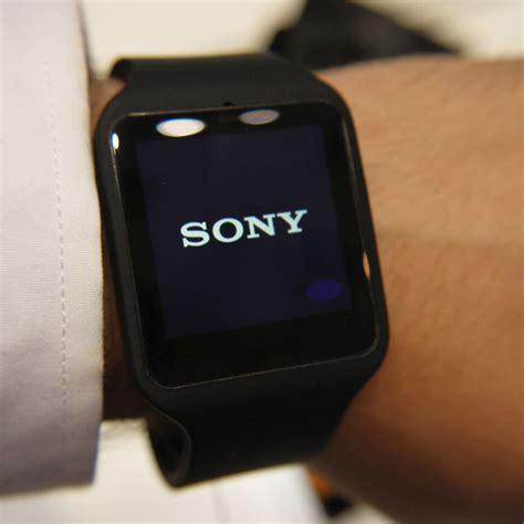 sony smartwatch 3 black waterproof smartwatch ip68