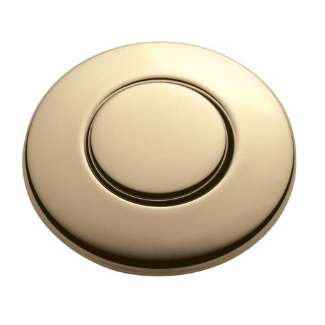 insinkerator top switch insinkerator sinktop switch push button in french gold for