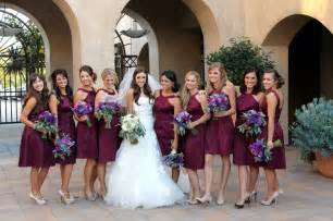 wine colored bridesmaid dresses show me your bordeaux burgundy and wine colored