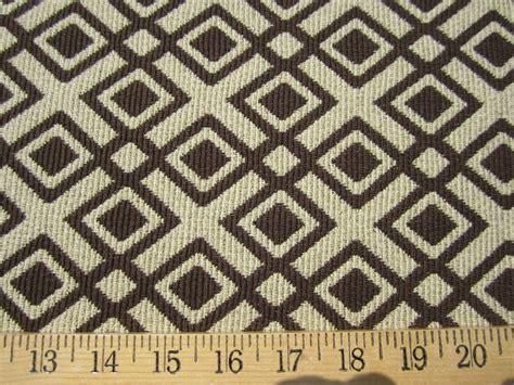 patterned upholstery fabric geometric diamond patterned brown upholstery fabric per