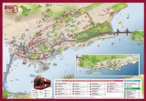 Big Bus San Francisco Map viator big bus san francisco hop on hop off tour in san
