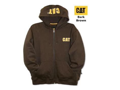 Jaket Caterpillar Zipper 1 mens caterpillar cat 174 zip front hoodie jacket new ebay
