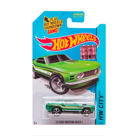 Diecast Mobil Mustang 1 jual hotwheels factory sealed 70 ford mustang mach 1 green