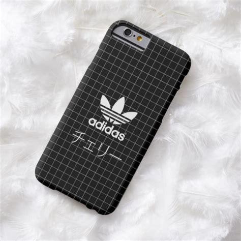 Cover Adidas Black phone cover adidas grid black wheretoget