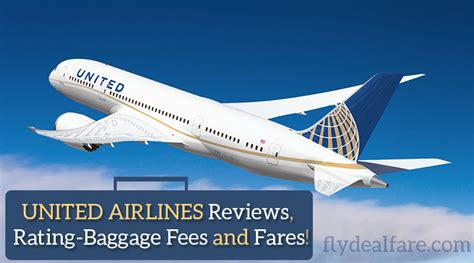 united airlines international baggage fees fly deal fare blog travel with ease